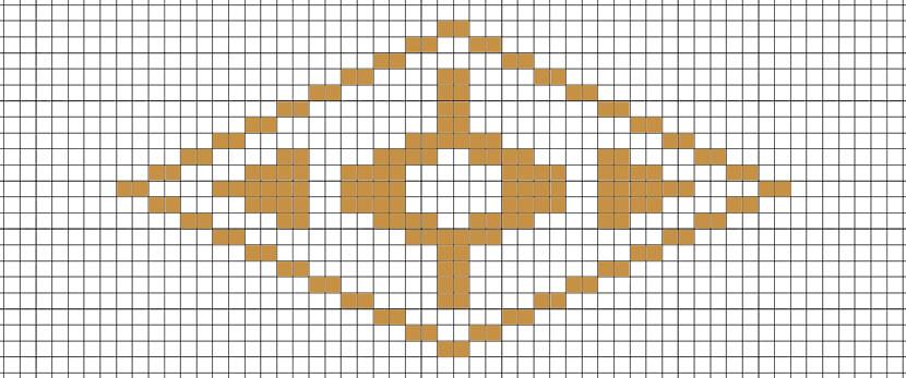 「梨の紋こ」図案